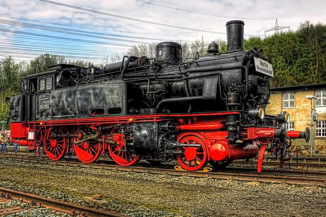 Bochum - Eisenbahnmuseum Dahlhausen Preußische T 12 74 1192