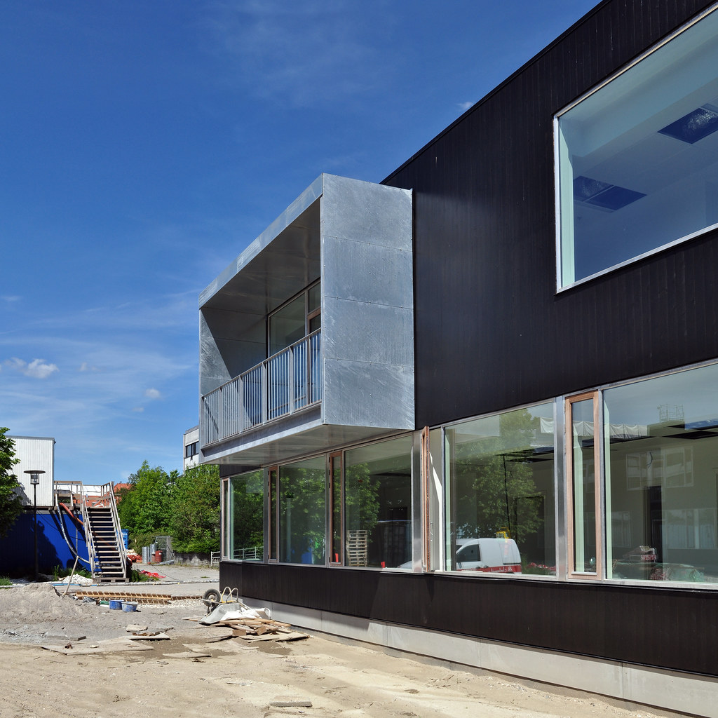 construction and modern home