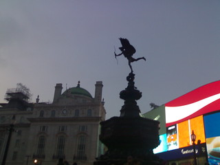 Piccadilly circus!!