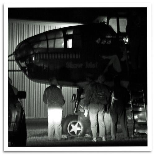 vintage airplane urbana oh caf warbird showme commemorativeairforce mediumbomber northamericanb25mitchell grimesfield