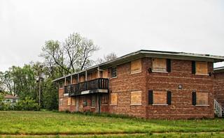 For sale - cheap! Abandoned apartment buildings, Harvey IL ...