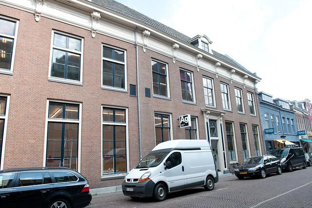 Minrebroederstraat nr. 20, het woonhuis van Sarah Sibilla Verdion, is waarschijnlijk afgebroken. De huidige nummering gaat van nr. 16 naar nr. 22. Foto: Anna van Kooij.