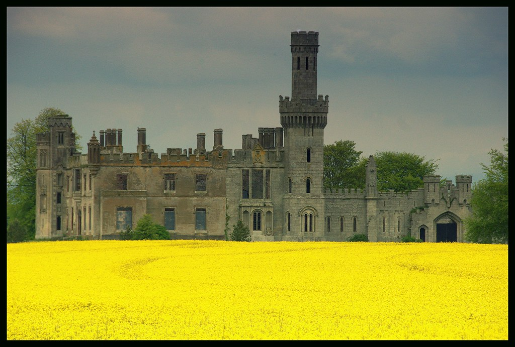 Ducketts Grove Castle, Carlow | A country house, oozing ...