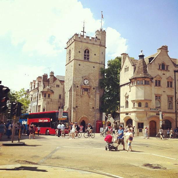 Carfax Tower Oxford Uk 카팍스 타워 옥스포드 영국 Ji Ho Park