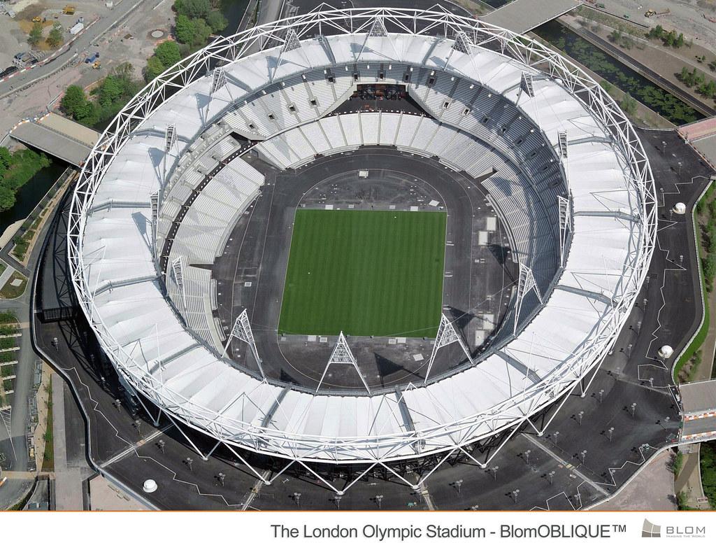 London 2012 Olympic Stadium - BlomOBLIQUE