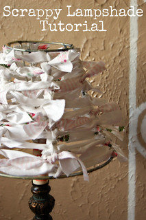 Scrappy Lampshade Tutorial | by Sarah.WV