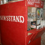 Fri, 08/06/2012 - 10:49am - Adam Petrella ran this newsstand on Canal St for 30 years. He was an artist and filled his stand with his artwork.