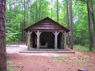William B. Umstead State Park pavilion 2