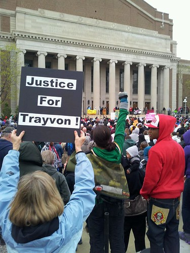 Justice for Trayvon at Northrop Plaza
