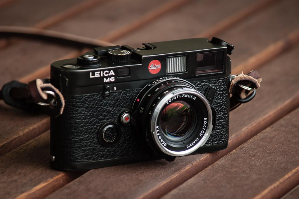 Leica M6 | Just took delivery from FedEx at lunch time  Love
