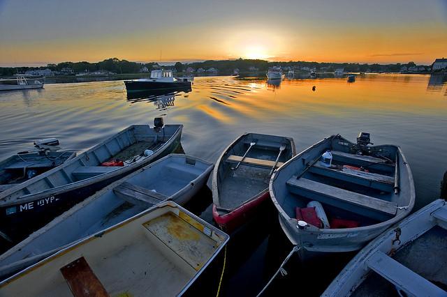 Sunset in Sleepy Harbor