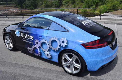 Car wrap from TechnoSigns in Orlando