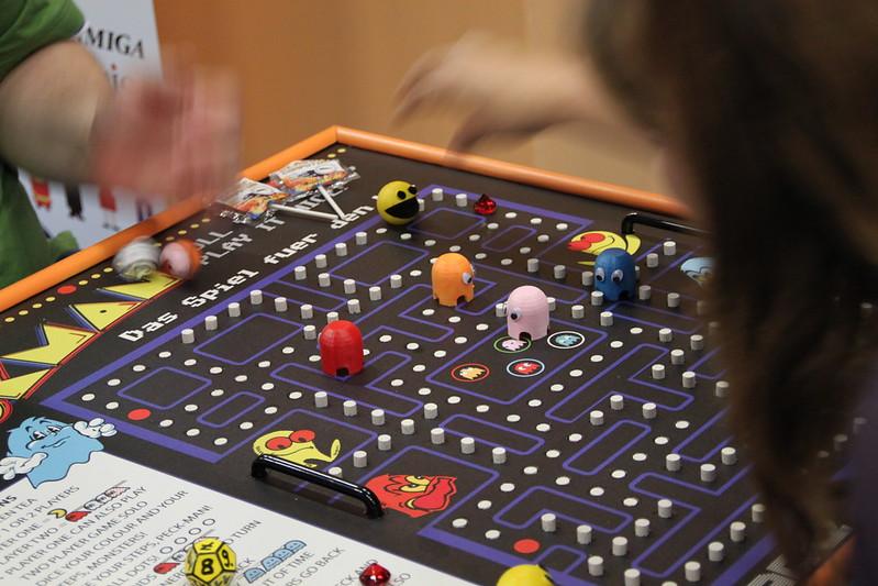 Pacman als Brettspiel
