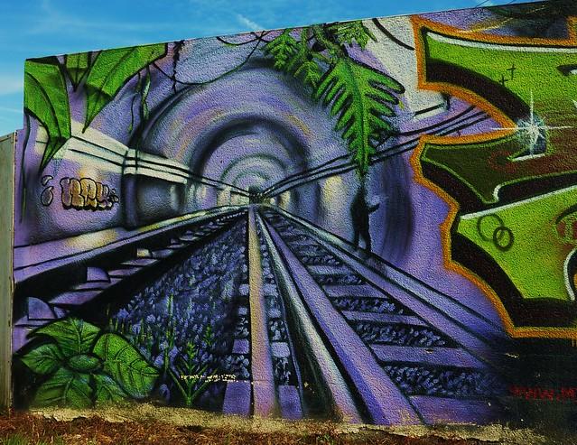 graffiti la roche sur yon