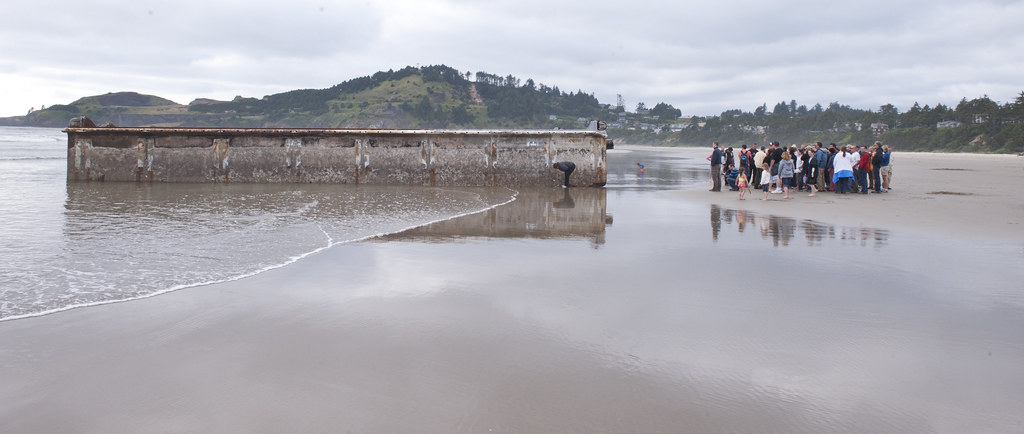 photo of dock at agate beach