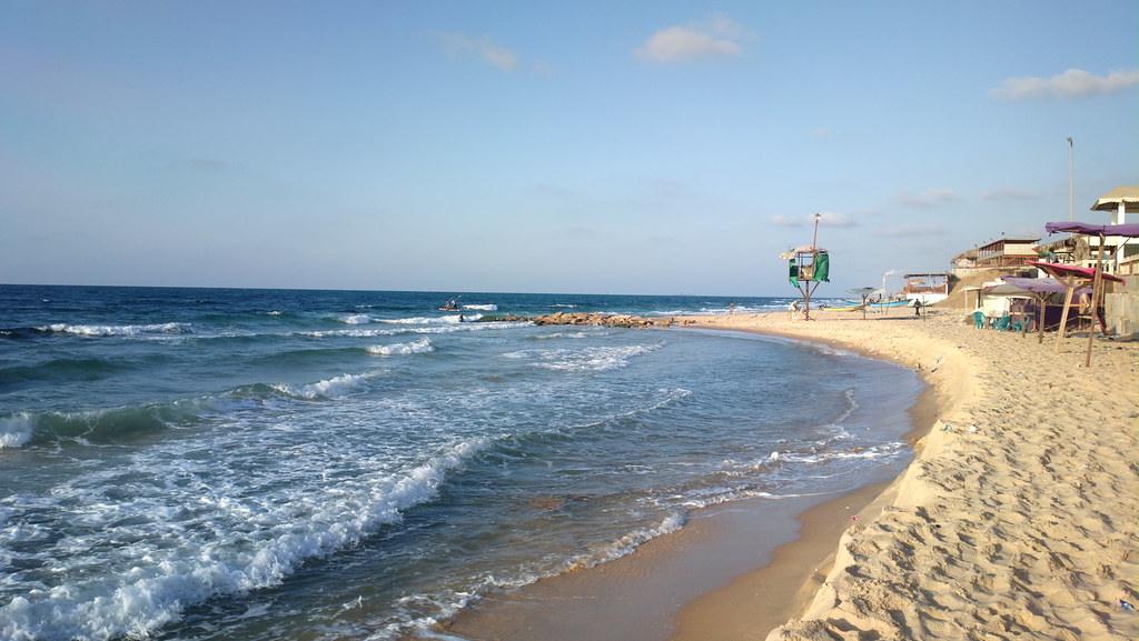 Image result for Gaza Beach