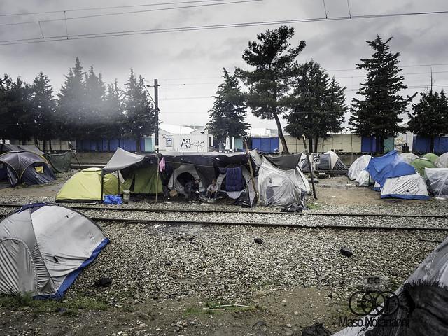 Idomeni, maggio 2016