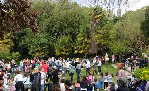 Udaberriko festa, Uliako parkean