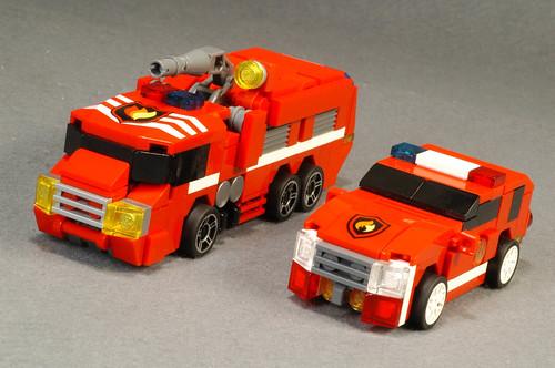 FIRE VEHICLES RK114 &RK115