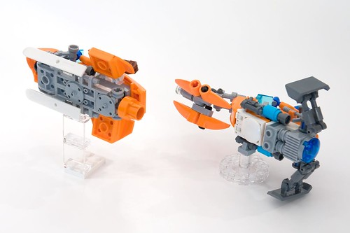 Snow-Fox & Caribou - Arctic Speederbikes   by ted @ndes