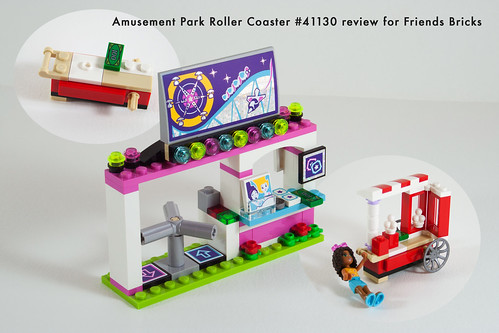 Set Review for Friends Bricks: 41130 Roller Coaster-07 | by fujiia.reviews