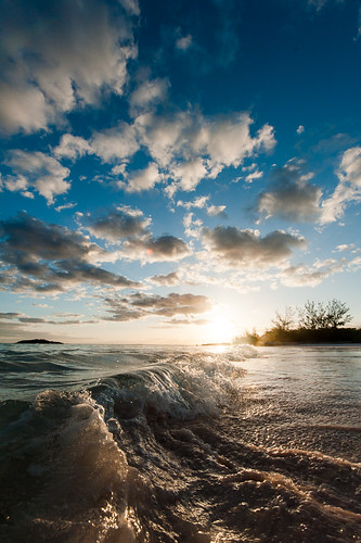 ocean morning sky sun water clouds sunrise waves caribbean bahamas eleuthera