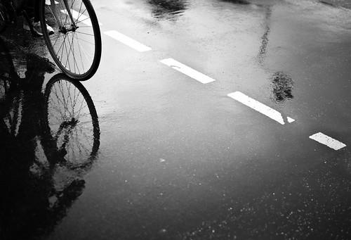 bike reflection | by gato-gato-gato