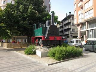 Locomotora de Vapor 020-0234 Cucú