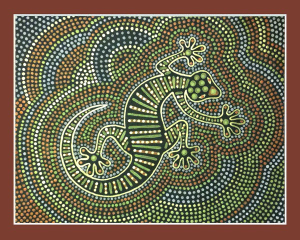 Papunya Dot Painting Representing Australia In Our World Flickr