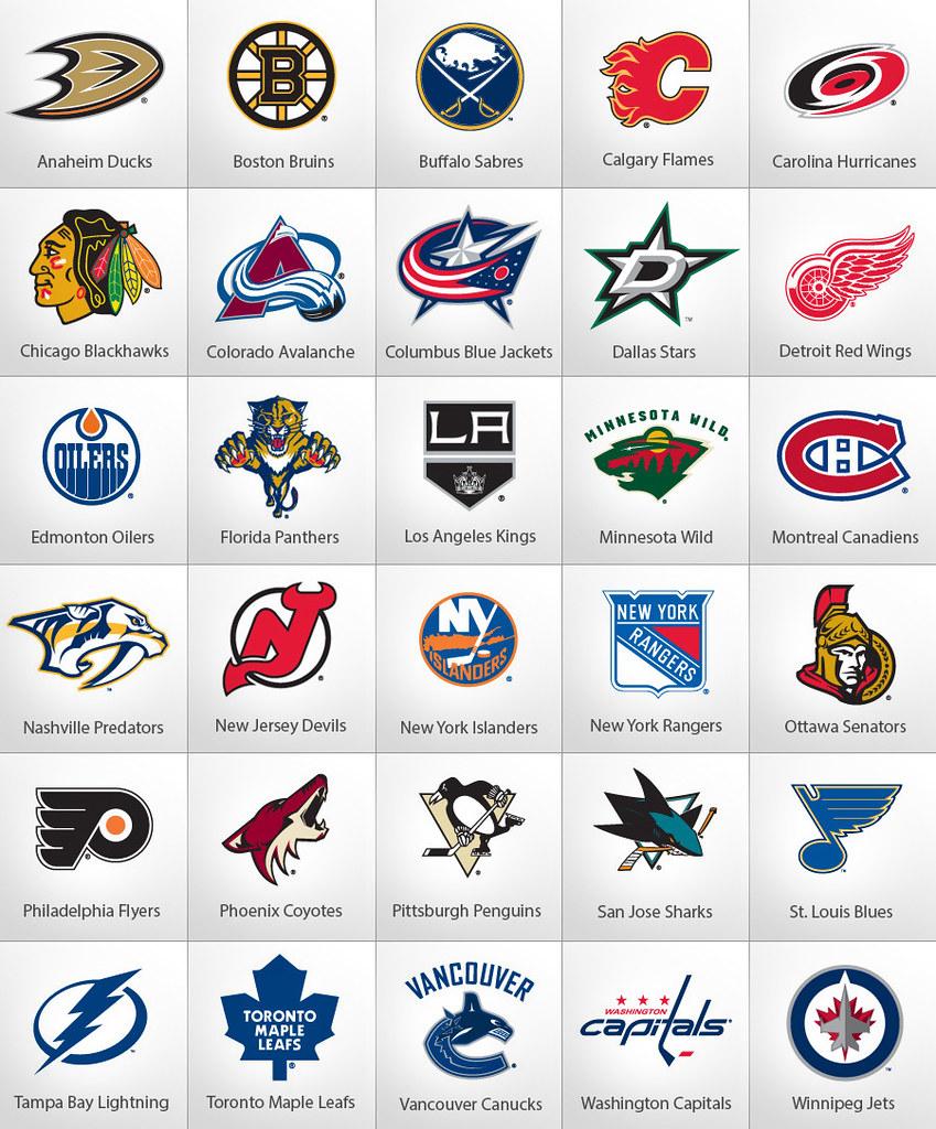 National Hockey League Nhl Teams The National Hockey Lea Flickr