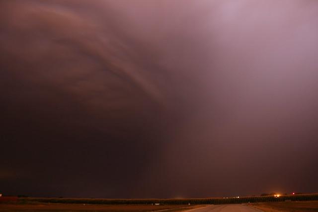 072912 - Late Night Nebraska Supercell