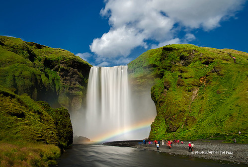 water waterfall iceland nikon ísland skógafoss nikond7000 toivido tóivídó