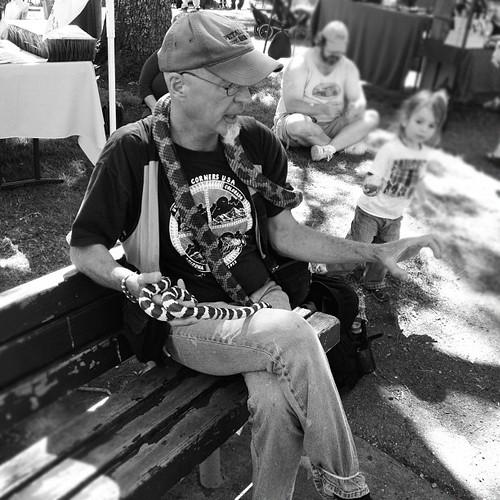 Petaluma snake-charmer | by sarahwulfeck