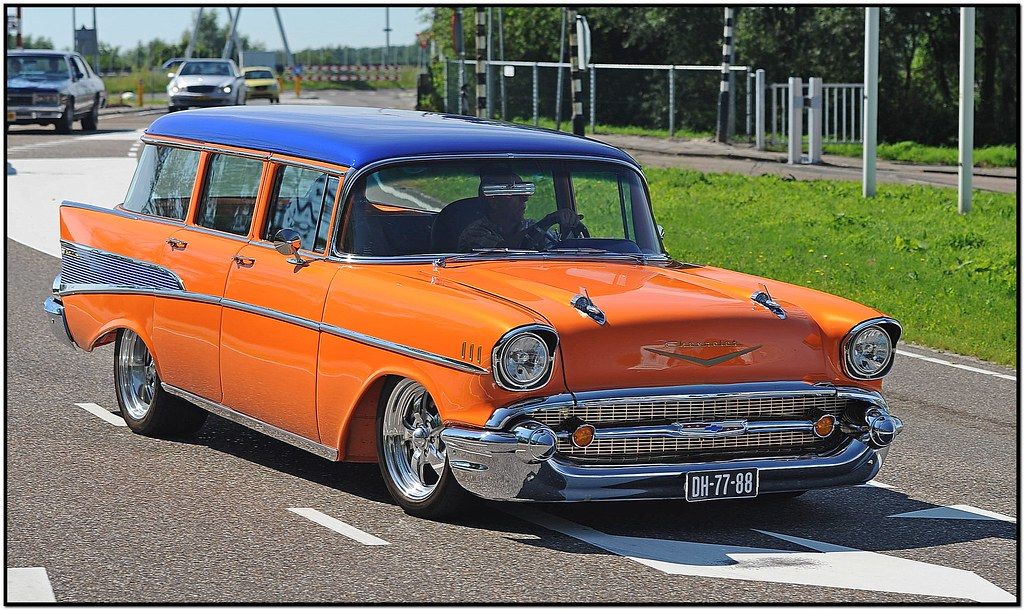 Chevrolet Bel Air Townsman / 1957