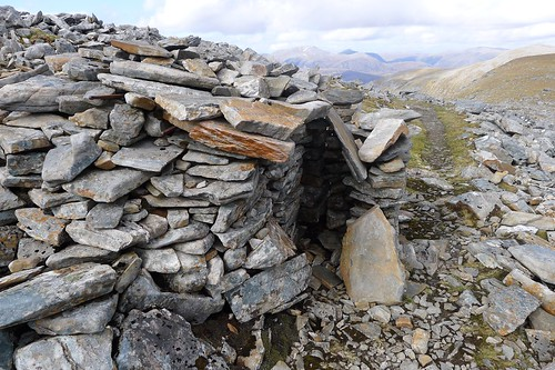Wee shelter below Sgurr Mor | by Nick Bramhall