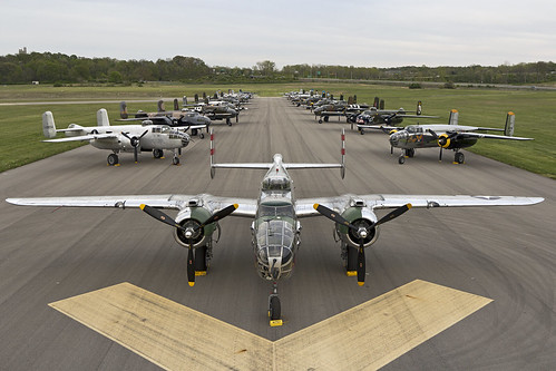 north american b25 naa mithchell