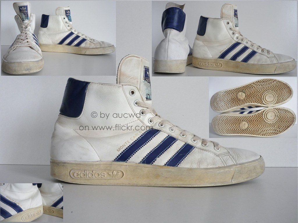 70`S 80`S VINTAGE ADIDAS TOP TEN BASKETBALL HI SHOES