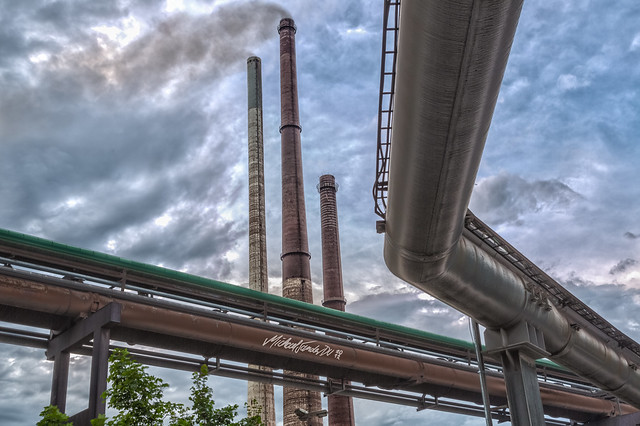 Chimneys and pipes @ Duisburg