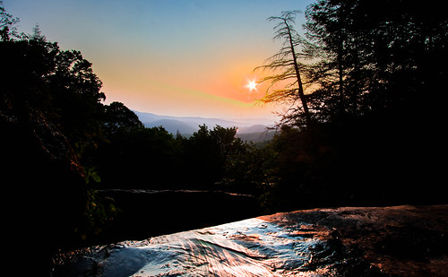 camping sunset hiking cohutta panthercreek