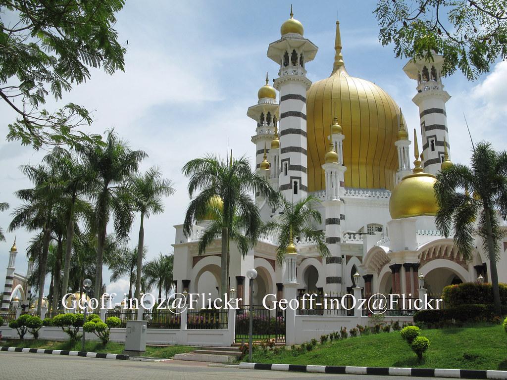 Ubudiah Mosque Chandan Hill Bukit Chandan Kuala Kangsa