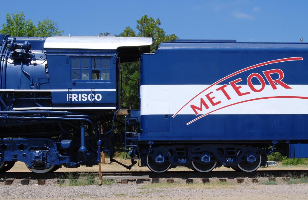 The Frisco Meteor | Route 66 Village, Tulsa, Oklahoma, July