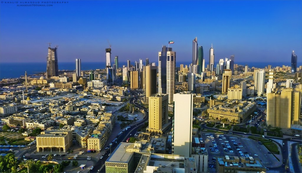 Center of the capital before sunset - Kuwait City | Center o