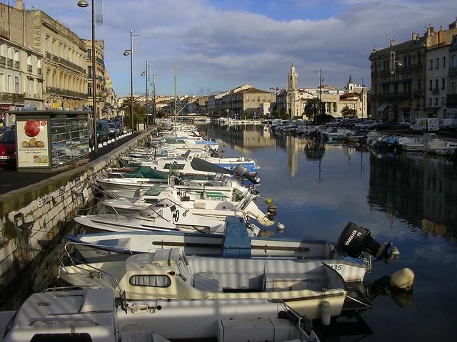 Vista d'un canal - Sète