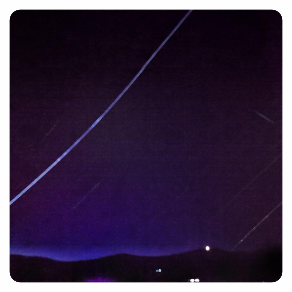 IPhone Long Exposure Of Thredbo's Western Sky At Night