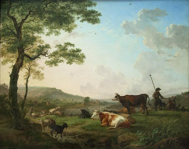 Cattle in a Meadow, 1781