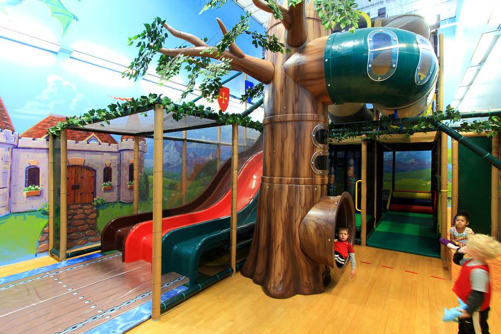 Indoor Forest Playground