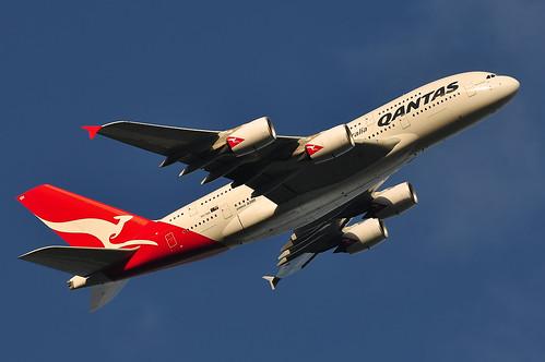 bw blackwhite nikon australia melbourne victoria airbus a380 70300mm qantas departure takeoff jumbo tullamarine superjumbo melbourneairport superheavy qantasa380 afs70300mm a380842 nikond5000 vhoqh afs70300mmf4556gedifvr reginalansett qantasa380melbourne