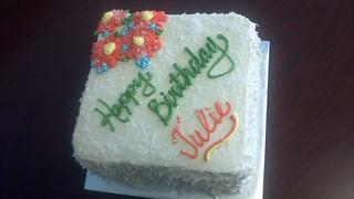 Admirable Coconut Birthday Cake Star Cakes In Springfield Mo Flickr Funny Birthday Cards Online Alyptdamsfinfo