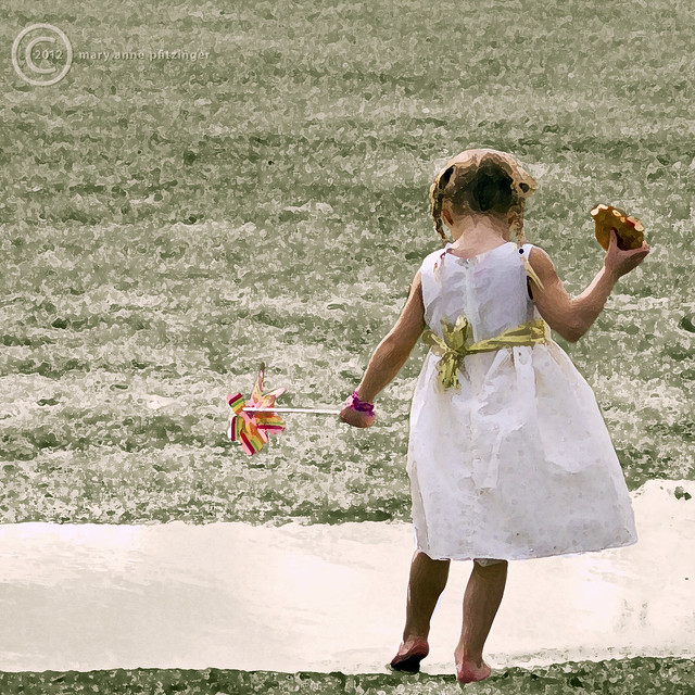 Pigtails, Pinwheel, Pizza, and a Puddle