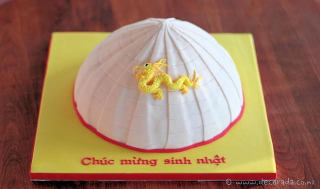 Vietnamese Hat Cake